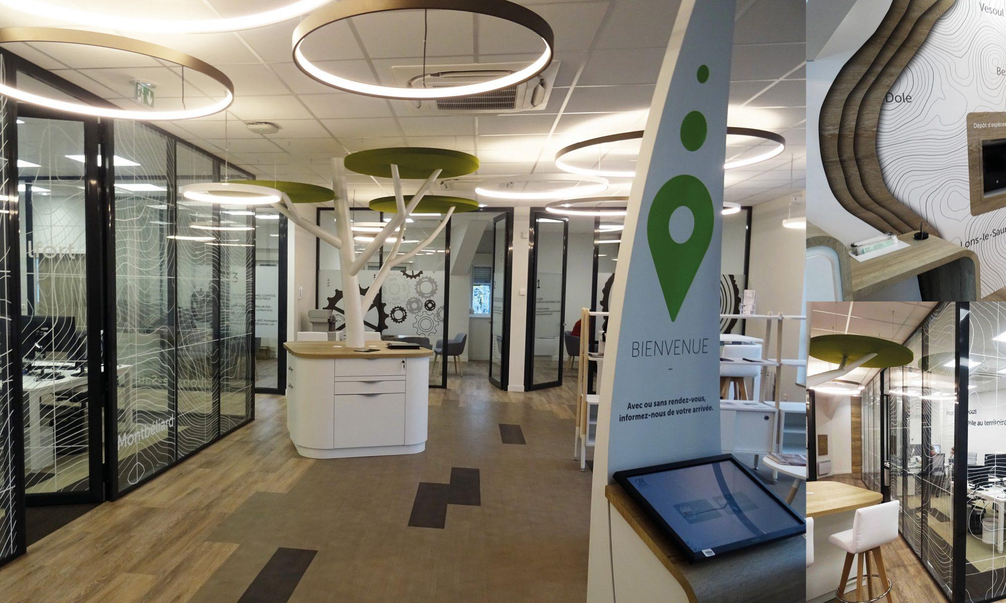IDEA CONCEPT Architecture : conception d'agences bancaires