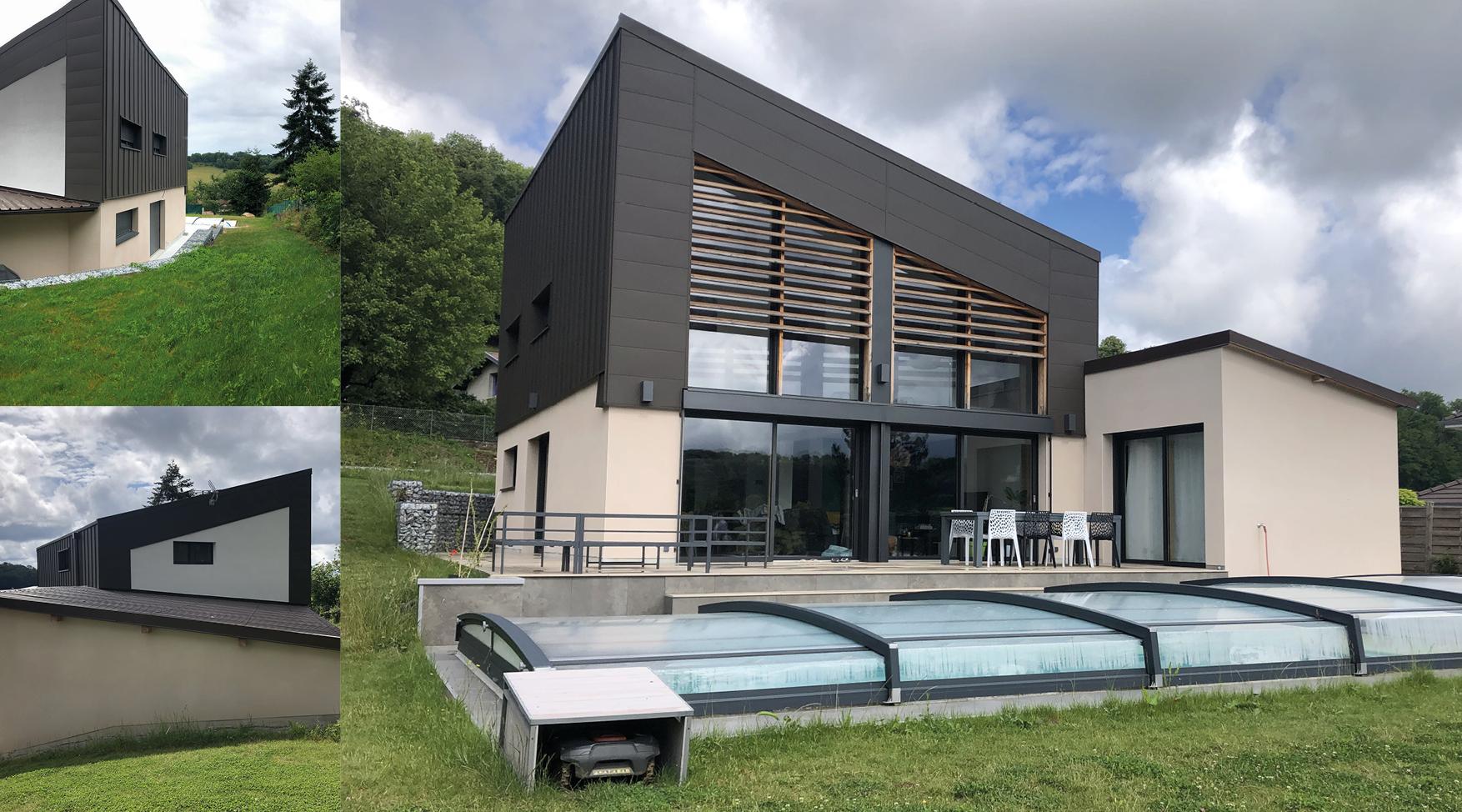 IDEA CONCEPT architecture, Conception d'une maison individuelle proche de Besançon